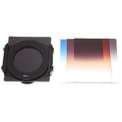 SZSY201301 gradvis Lens Filter + ND4 + ND8 + fäste + Ring Set för 58mm Lens Camera - Black (8 st)