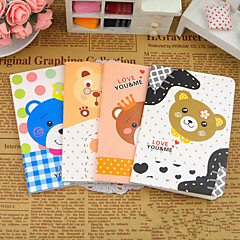 Cartoon Bear Series Small Notebook(Random Color)