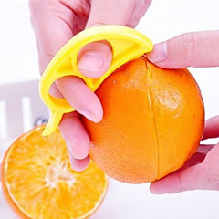 detail appelsin skrællekniv behændig appelsin cutter frugt peeling (tilfældig farve)
