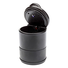 In-Car Use Portable Ashtray with LED Light for Cars