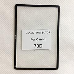 fotga® premium LCD-skärm panel skydd glas för canon 70d