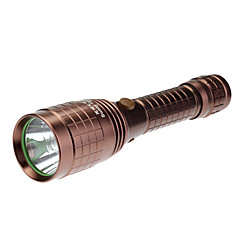 Sunny Land R206 recargable 5-Mode del Cree XP-G R5 LED Flashlight (240LM, 1x18650, Brown)