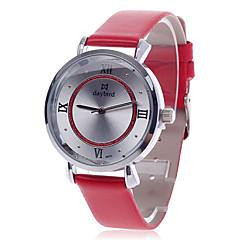 daybird de 3803 mujeres de la manera del cuarzo del reloj-Red + Silver