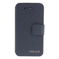 Třpytivé a kvalitní PU Full Body pouzdro se stojánkem a slot pro kartu a Stylus pro iPhone 4/4S (různé barvy)