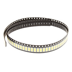0.5W 5630SMD 5730SMD 50-55LM 6000K Cool White LED Light String Par (3.3-3.6V,100pcs)