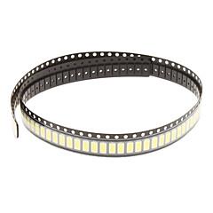 0.5W 5630SMD 5730SMD 50-55lm 6000K Corda de Luz Branca Fria e LED(3.3-3.6V, 100pcs)