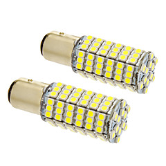 1157/BA15D 8W 120x3020SMD 660LM 5500-6500K Cool White Light LED izzó Car (12V, 2db)