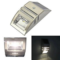 Solar Motion Sensor Super Bright LED Wall Light for Pathway Staircase Step Garden Yard Wall Drive Way