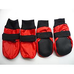agua color sólido a prueba de Sofy zapatos de suela