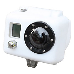 Silicone Case for Gopro HD HERO2 (Hvit)