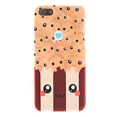 Cartoon Style lachend gezicht Pattern Smooth Hard Case voor iPhone 5C