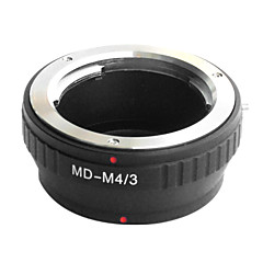 Lentille EMOLUX Minolta MD MC à Micro 4/3 Adaptateur E-P1 E-P2 E-P3 G1 GF1 GH1 G2 GF2 GH2 G3 GF3