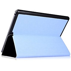 Contrast Color Cross Pattern Full Body Leather Case for iPad Air (Assorted Colors)