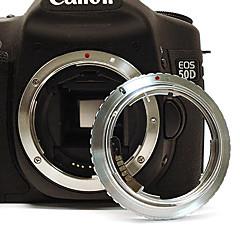 Olympus obiectiv om la Canon EOS EF mount adaptor cu electronice / focus infinit 60D 50D 40D 600D 550D 500D 450D 1100D