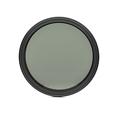 Fotga 58mm Slim Fader ND-filter Justerbar variabel Neutral Density ND2 till Nd400