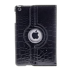 360 astetta kääntyvä leopardi kuvio musta kotelo iPad mini 3, iPad Mini 2, iPad Mini