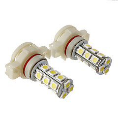 H16 2W 18x5050SMD 120-150LM 6000K Cool White Light LED Bulb for Car (12V,2pcs)