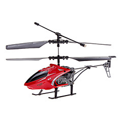 JJ 2.5 Channel MiniRemte Helikopter Kawalan dengan giroskop, LED Canopy Yellow Light dan diganti