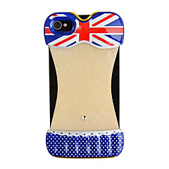 Sexy Bikini Pattern The Union Jack Back Case for iPhone 4/4S