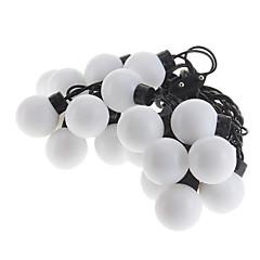 Z®ZDM 5M 15W 20-LED Warm White Light Ball Shaped LED Strip Light (220V)