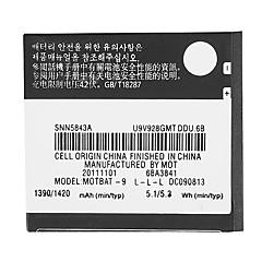 MOTOROLA BP-6X 1500mAh batteria del telefono cellulare per Motorola Quench DROID 2 PRO A955 Milestone XT720 i1 BP6X batteria