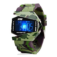 Men's Watch Camouflage Military Stealth Aircraft LED Multi-Function