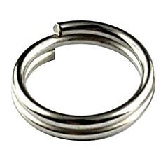 6mm 50 Pcs Pack Stainless Steel Split Rings For Blank Lures Crankbait Hard Bait
