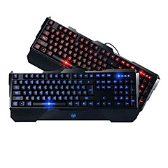 Precise Profesional LED Gaming Wired Keyboard USB