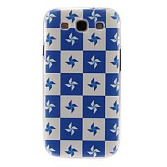 Varten Samsung Galaxy kotelo Kuvio Etui Takakuori Etui Laattakuvio PC Samsung S3
