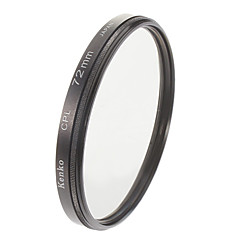 Kenko 72mm Slim Pekeliling CPL Filter polarisasi