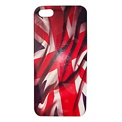 Aflutter Case Retour Motif drapeau de l'Angleterre pour iPhone 5/5S