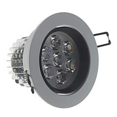 Szabályozható 7W 560LM 6000K Hideg fehér világító LED-es mennyezeti izzó (220 V)