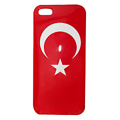 Mauritania Flag Pattern ABS Back Case for iPhone 5/5S