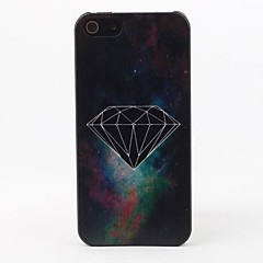 Galaxy Diamond Protective Hard Case Voltar para o iPhone 5/5S