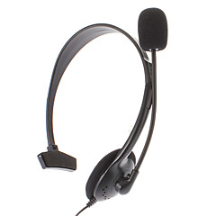 Wired Unilateral Earphone for PS4 (Black)