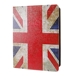Retro Style Union Jack Mönster Full Body Väska med stativ för iPad 2/3/4