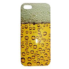 Bolha Cerveja Padrão ABS Case Voltar para o iPhone 5/5S