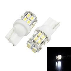 Merdia T10  20-SMD 1206 LED For   Car  White Light  License Plate Lamp / Reading Lamp(pair)