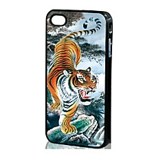 3D Tiger Pattern Hard Case for iPhone 4/4S