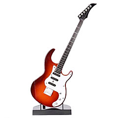 Electric Guitar Shaped Musical Toy With Stand(Powered by 2 AA Battery not included)