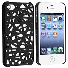 Birds Net Slim Cover Case for iPhone 4/4S (Assorted Colors)