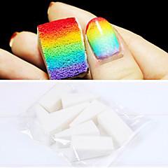 8PCS manicura profesional Esponja Herramientas del arte del clavo del color del gradiente de Nail Art & Nail Mulit color