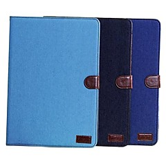 Cowboy Cloth Lines Full Body Leather Case with Card Slot  for Samsung Tab Pro 10.1 T520 (Assorted Colors)