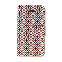Kinston Honeycomb Lattice Pattern PU Leather Full Body Case with Stand for iPhone 4/4S