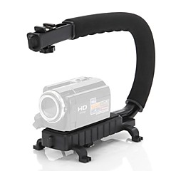 C Shape Video Stabilizer Menangani Gunung Grip untuk DV Camcorder DSLR Camera