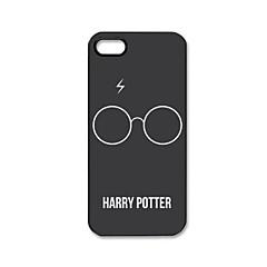 Patrón de Harry Potter de plástico duro caso para iPhone 5/5S