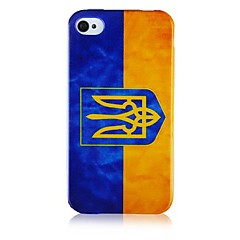 Icon Pattern Silicone Soft Case for iPhone4/4S