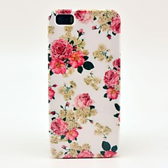 Beautiful Rose Flower Pattern Hard Case for iPhone 5/5S