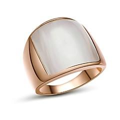 Ringe Bryllup Fest Daglig Afslappet Julegaver Smykker Guldbelagt Båndringe7 8 9 Gylden Sølv