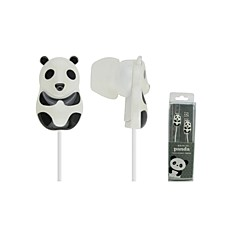 Yongle PD-100 Headphone 3.5mm In Ear Canal Panda Style Noise-Cancelling for iPhone 6 / 6 Plus